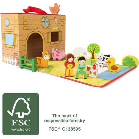 Valigetta Fattoria Certificata FSC| Legler