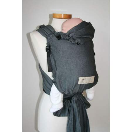 Half-buckle Baby Carrier Graphit | Storchenwiege