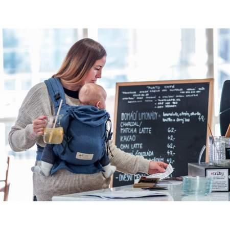 Half-buckle Baby Carrier Jeans | Storchenwiege