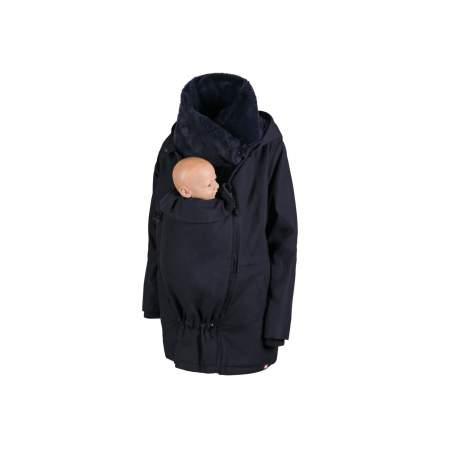 Wallaby Carrying  and Maternity Jacket Navy & Navy
