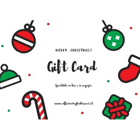 Gift Card 2020 | Officina degli abbracci