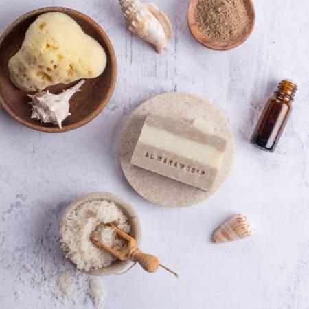 Dead Sea Sapone Artigianale per pelli sensibili | Almara Soap