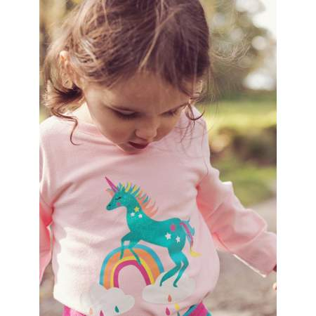 T-Shirt Manica Lunga Sparkly Unicorn | Blade and Rose