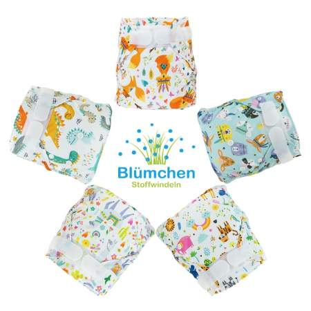 Newborn Cover Velcro Without Gusset| Blumchen