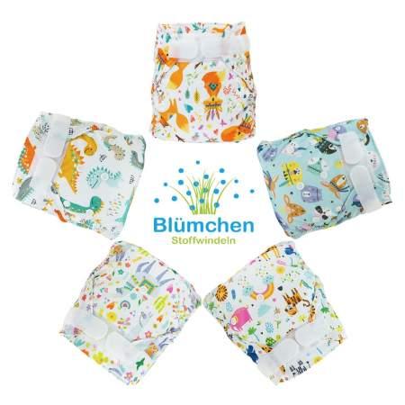 Cover Impermeabile Newborn Velcro senza doppia barriera ( 2-6 kg ) | Blumchen