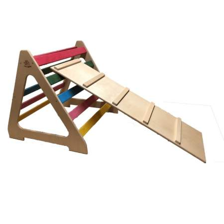 Triangolo Pikler con rampa | Baby Wood