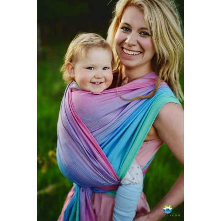 Baby Wrap Bamboo Iolite | Little Frog