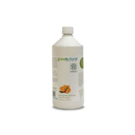 Hands and face cleanser with Mint and Orange organic extract Greenatural Ecobio