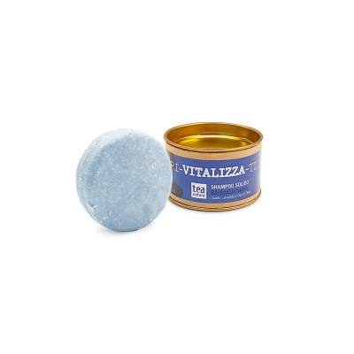 Ri-Vitalizza Shampoo Solido Rivitalizzante con Guado, Lavanda e Olio d'Oliva| Tea Natura