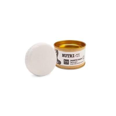 Nutri-Ti Shampoo Solido Delicato  con Olio di Mandorle Dolci e Amido di Riso| Tea Natura
