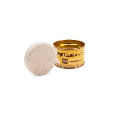 Equilibra-Ti Shampoo Solido Seboequilibrante con Ghassoul  e Olio di Argan | Tea Natura