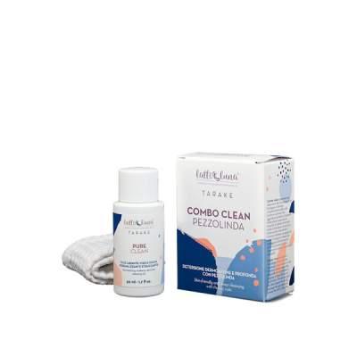 Combo Clean - Kit Detersione Tarake 1 Pure Clean + 1 Pezzolinda| Latte e Luna