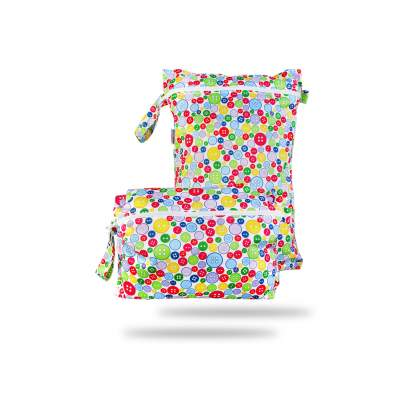 Wet Bag 2 in 1 Sewing Buttons | Petit Lulù