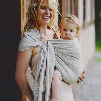 Ring Sling Natural Wildness | Little Frog
