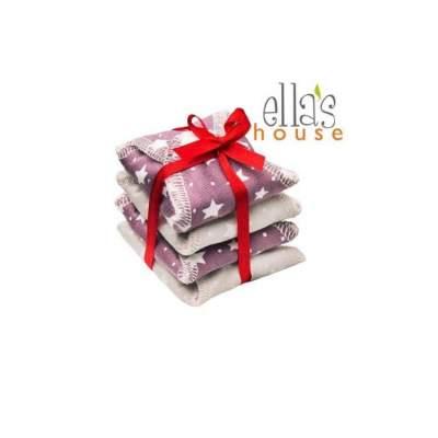 Salvaslip Lavabili con ali Stars  kit 4 pezzi | Ella's House