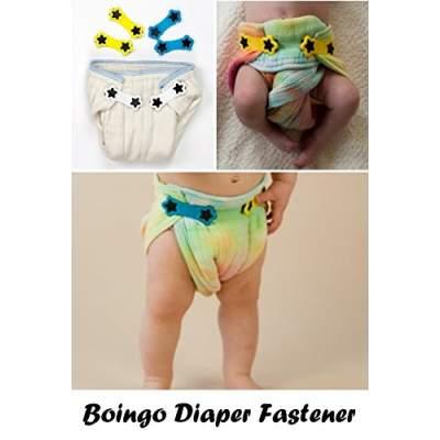 Gancetti per pannolini lavabili   Boingo Snappy