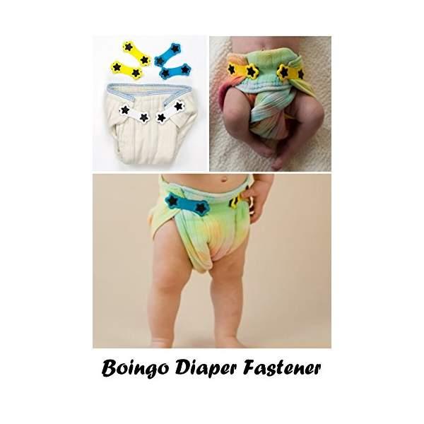Gancetti per pannolini lavabili | Boingo Snappy