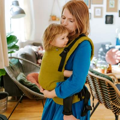 Baby Carrier  Multiage Plus  Lime  Lino | Kavka