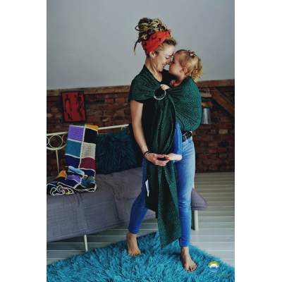 Ring Sling Emerald Cube | Little Frog