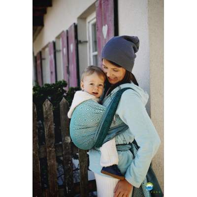 Baby Wrap Evergreen Cube | Little Frog