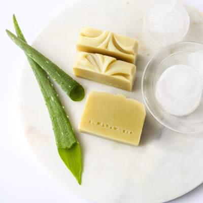 Sapone Naturale Dopo Sole Aloe Vera | Almara Soap