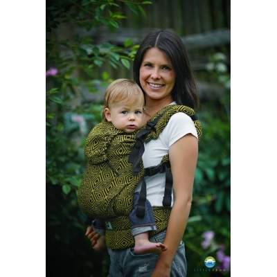 Marsupio regolabile Toddler Golden Cube | Little Frog