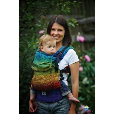 Ergonomic Carrier Toddler Rainbow Harmony | Little Frog