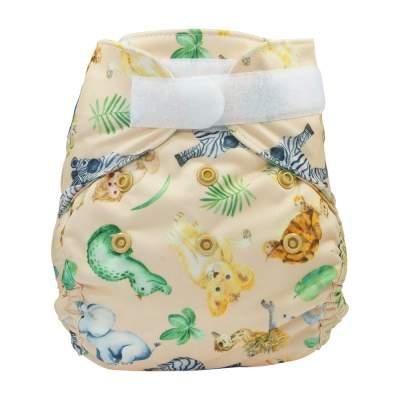 Blümchen diaper cover Newborn with gussets Africa (3-6 kg)