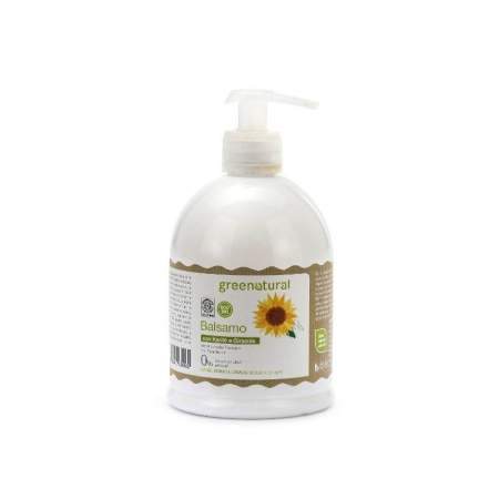 Hair conditioner with organic Shea Butter and Sunflower Seed Oil Greenatural Ecobio