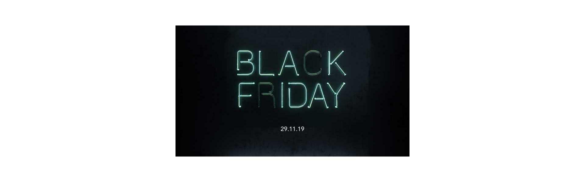 Black Friday, acquista prodotti dal nostro catalogo con sconti esclusivi.